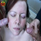 This horny mature outdoor slut loves cocks
