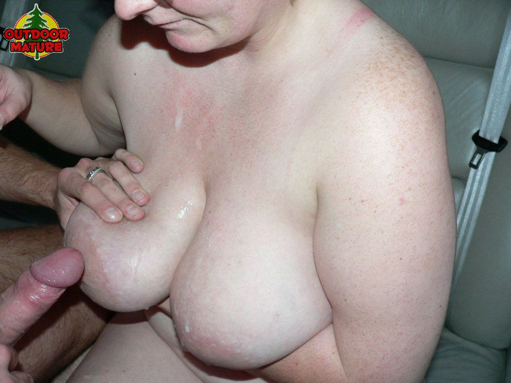 Chubby mom sucking