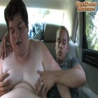 This big mature woman gets kinky in a car