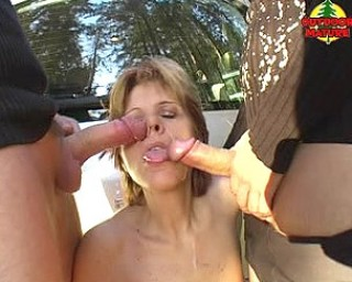 She loves cocks and cum in the car and outside of it