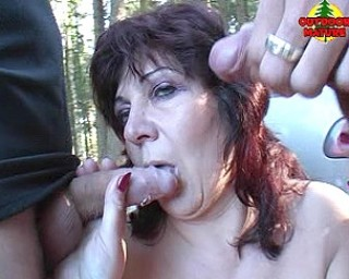 She loves sucking those cocks in public places