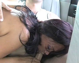 Sex in a car with a mature nympho is the best
